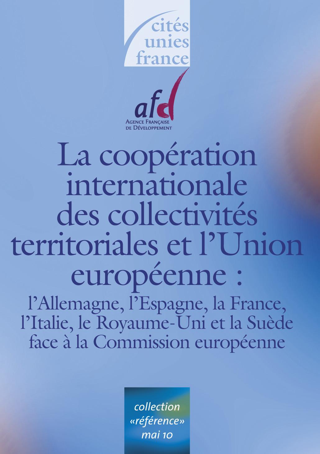 La coop ration internationale des collectivit s et l union - La chambre des preteurs de l union europeenne ...